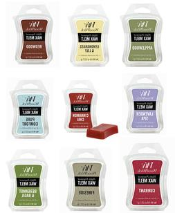WOODWICK  MINI .8 oz HOURGLASS WAX MELTS USE IN SCENTSY CAND